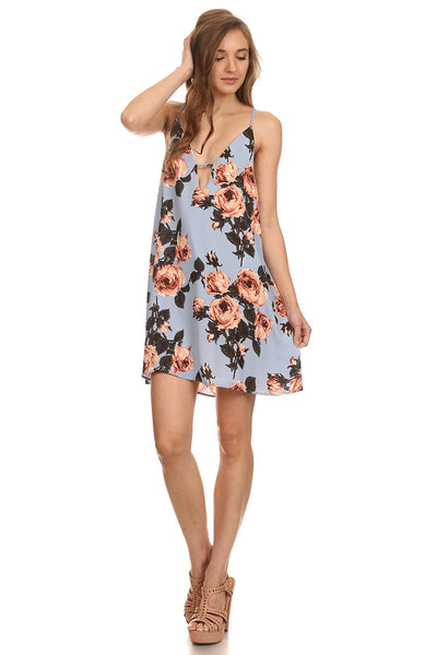 Spend Summer with Me Floral Dress-1