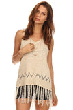 Fringe Hi Lo Sweater-8