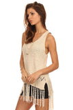 Fringe Hi Lo Sweater-9