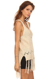 Fringe Hi Lo Sweater-10