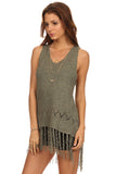 Fringe Hi Lo Sweater-3