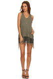 Fringe Hi Lo Sweater-1