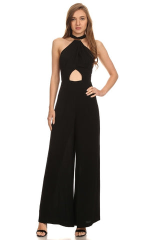 Cut Out Jumpsuit-1