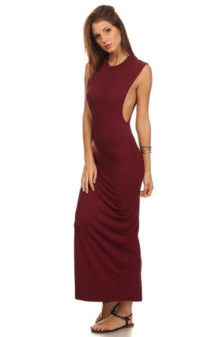 Peek A Boo Maxi Dress-1