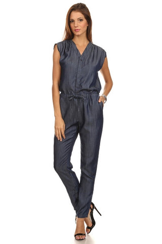 Chambray Jumpsuit-1
