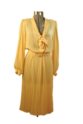 Vintage 1970 Shirt Dress by Susan Howard of California