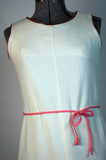 Vintage 1960 Prestige Linen Tennis Dress
