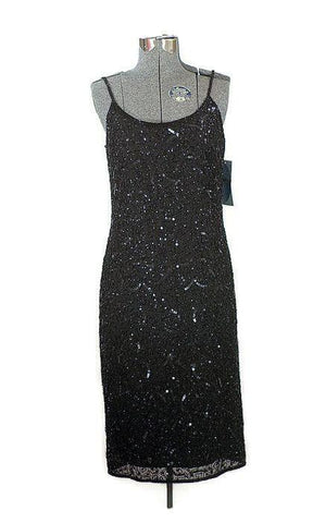 Midnight Stars Bead and Sequin Formal - ROBINS HERITAGE USA Vintage - 1