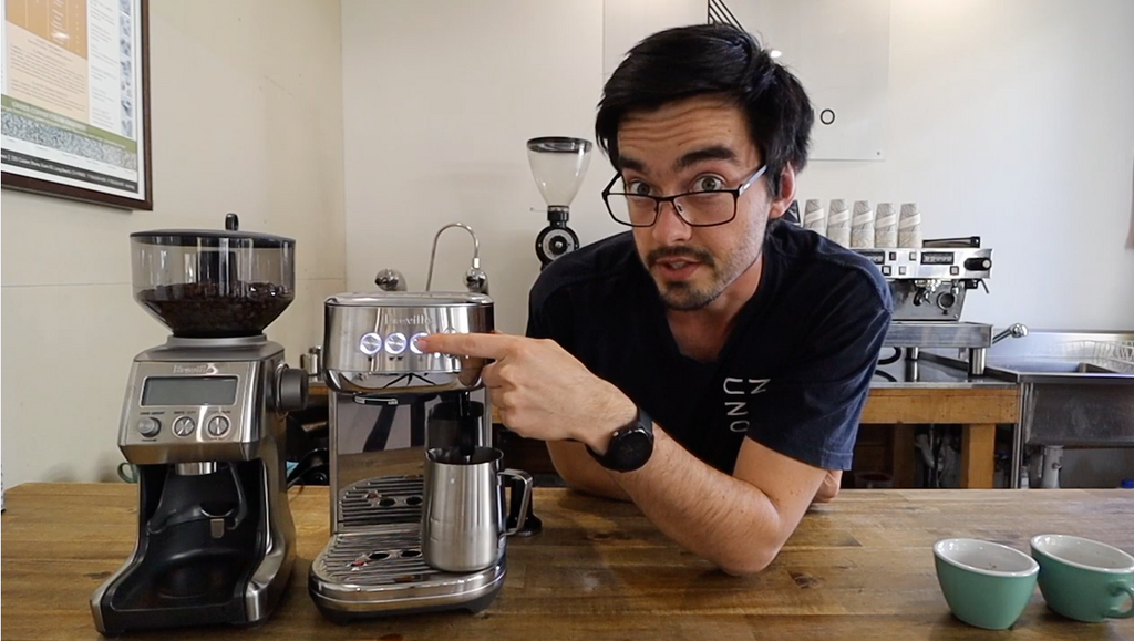 VIDEO TUTORIALS // SAM BEGG // Breville Bambino Plus Espresso Machine