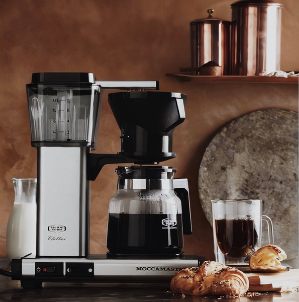 Moccamaster 1.25lt Exceptional Handmade Drip Coffee Machine