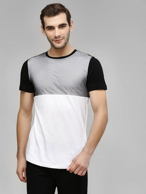 Cut & Sew Mesh T-Shirt