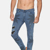 Impackt Men's Skinny Jeans With Placement Print & Patch