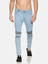 Impackt Men's Jeans With Printed Patch
