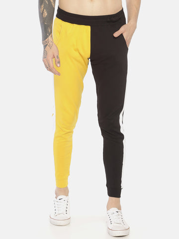 Cut And Sew Slim Fit Joggers