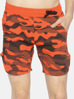 Allover Printed joggers shorts