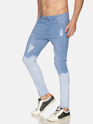 Impackt Men's Jeans With Ombre Wash