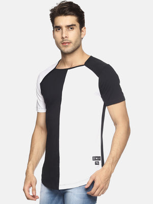 T-Shirt With Cut & Sew Panels