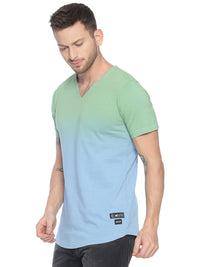fashionable style T-Shirt ideal for men with Tie Dye