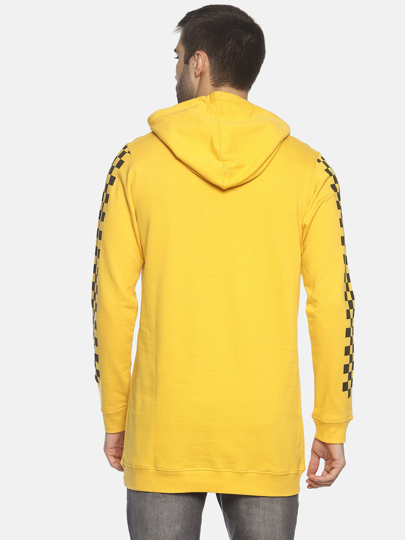 Slim Fit Sweatshirt With Hoodie