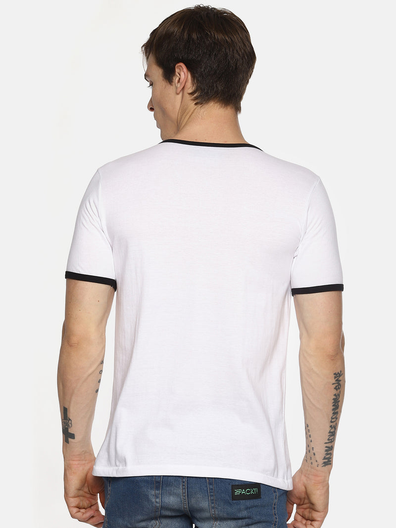 White taped t-shirt
