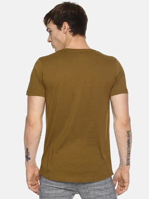 T-Shirt With Placement Print