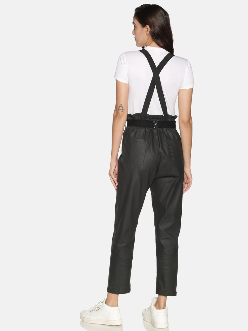 Kultprit Women's Trouser With Suspenders