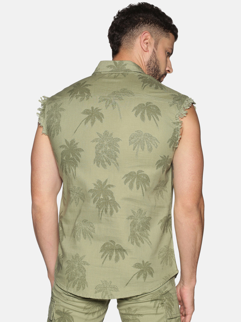 Kultprit Men's Sleeveless Shirt