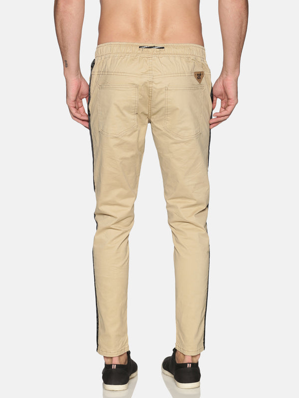 Kultprit Men's Trouser With Sided Tape & Drawstring