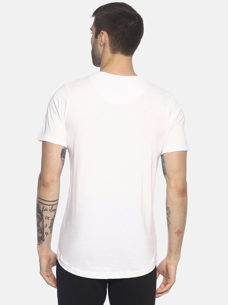 Printed ,Short Sleeve ,Round Neck T shirt