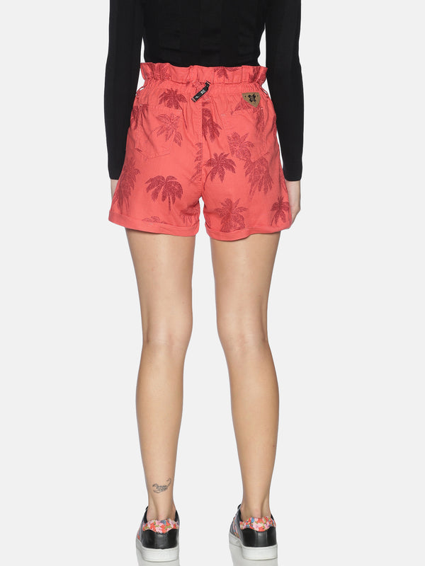Kultprit Women's Shorts With Allover Print