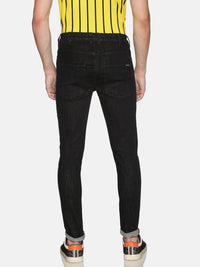 Impackt Light Washed Skinny Fit Biker Jeans for Men