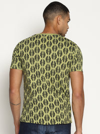 Impackt Green all over print tshirt