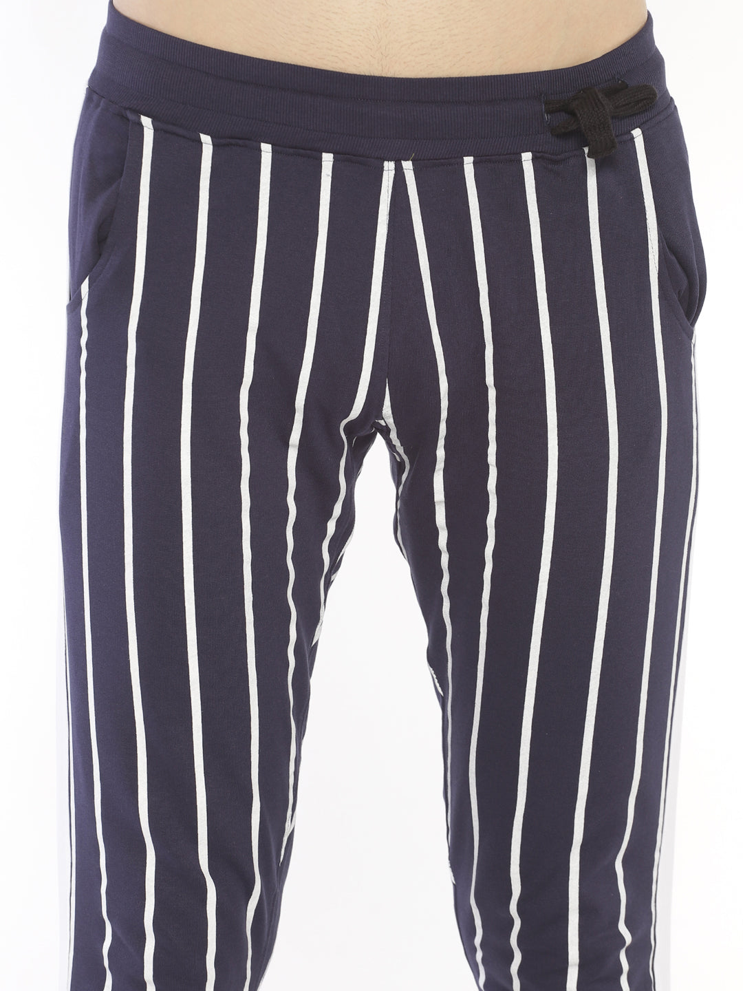 Side Tape Allover Printed Joggers