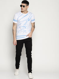 Impackt Half Sleeve round neck T-Shirt with all over print