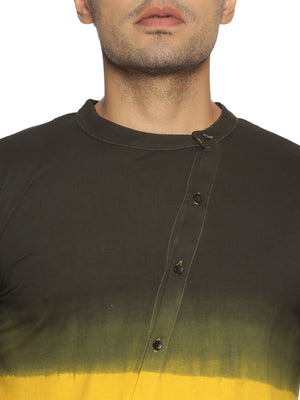 Kultprit Cotton Round Neck Men Faded T-Shirt