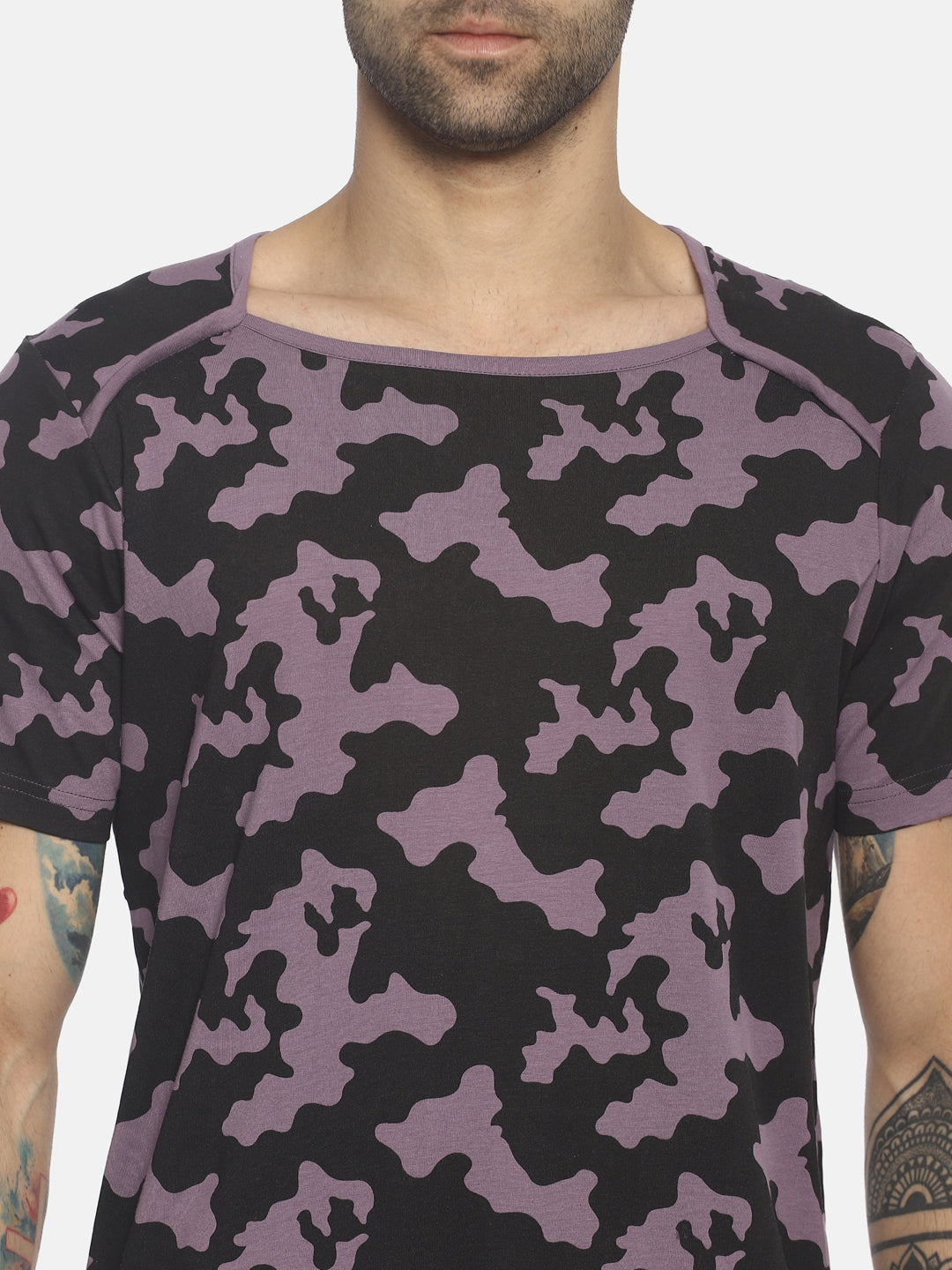 All Over Printed ,Short Sleeve ,Round Neck T shirt
