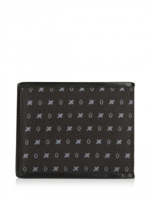 All Over Logo Print Bi-fold Wallet