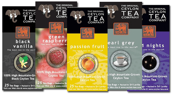 2. The Original Ceylon Tea Company -  SPECIALS