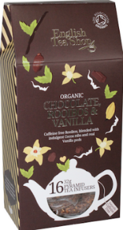 Chocolate Rooibos and Vanilla Silken Infuser Cathedral Pack 16ct