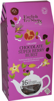 (16 CT) Chocolate Super Berry Burst Silken Infuser Cathedral Pack
