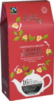 (16 CT) English Breakfast Silken Infuser Cathedral Pack