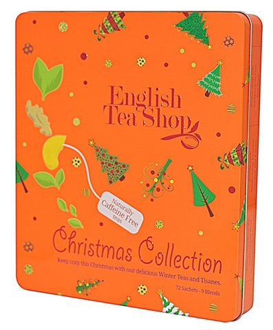 Orange Christmas Tin - 72ct in Collectible/Reusable Tin