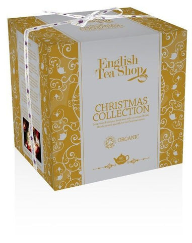 Holiday Organic Tea Cube Gift Set Gold 96 Tea sachets in 6 different flavors. 8 Tea bags per small box and 12 boxes inside each pack USE 25% DISCOUNT CODE YWJ0DBAYKMMX at CHECKOUT