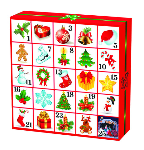 Copy of Christmas Ornaments Advent Calendar