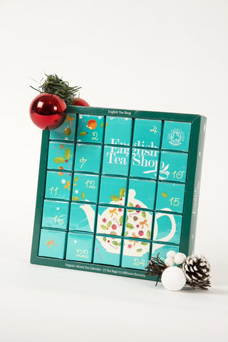 Christmas Advent Blue Calendar