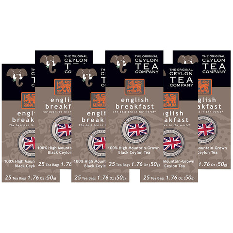 English Breakfast Special (6 boxes) Save $ 4.00