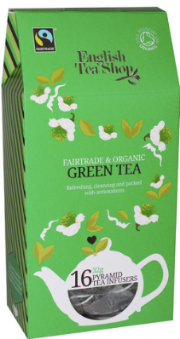 (16 CT) Green Tea Silken Infuser Cathedral Pack