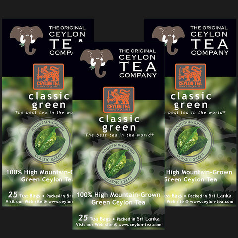 Buy 1 Classic Green Tea Pack of 3