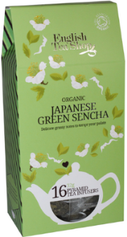 (16 CT) Japanese Green Sencha Silken Infuser Cathedral Pack
