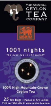 1001 Nights 25 Tea Bags